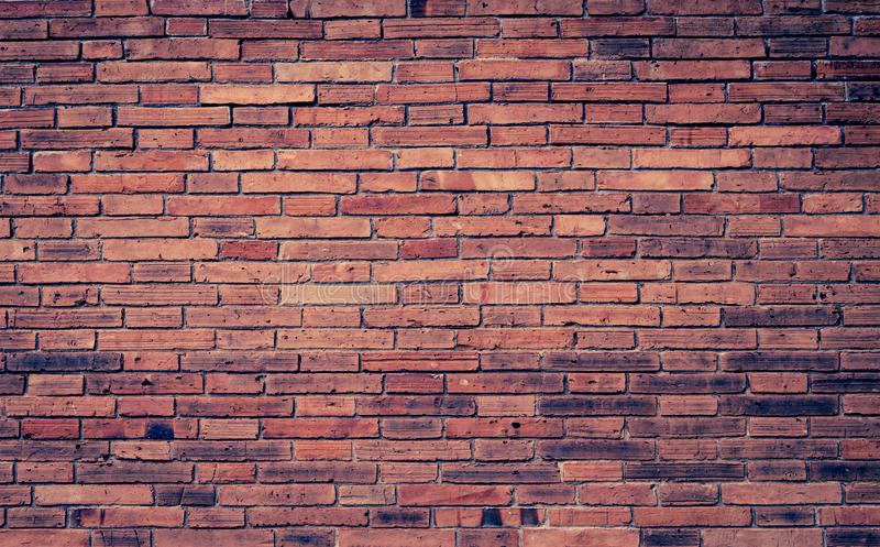 Vintage tone style brick wall texture background royalty free stock photography