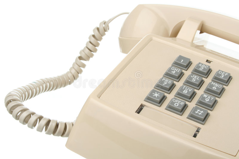 Download Vintage Touch Tone Telephone Stock Image - Image: 7208195