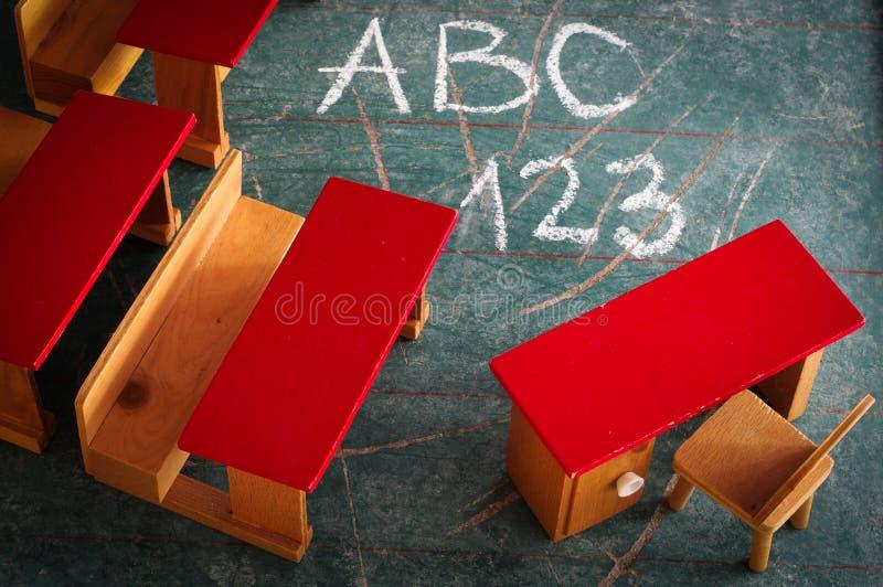 Vintage Toy Classroom photos stock