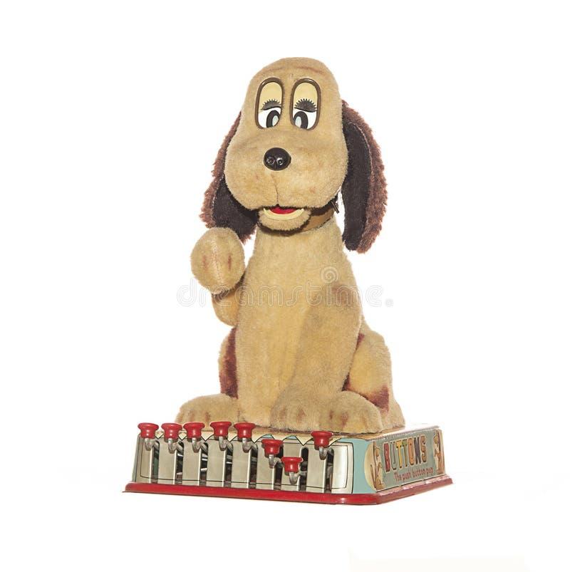 Vintage Toy Dog Buttons images libres de droits