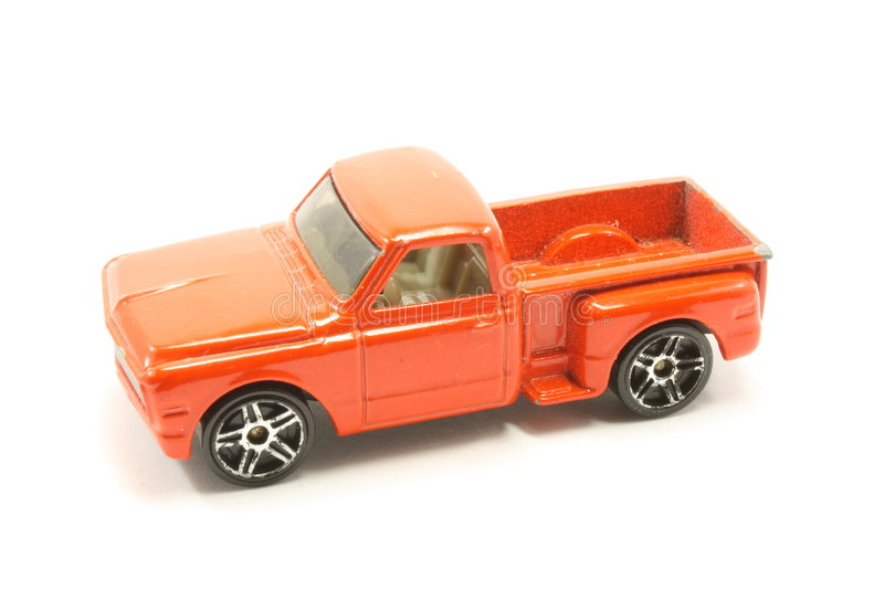 Vintage Toy PIck Up Truck Stock Photography