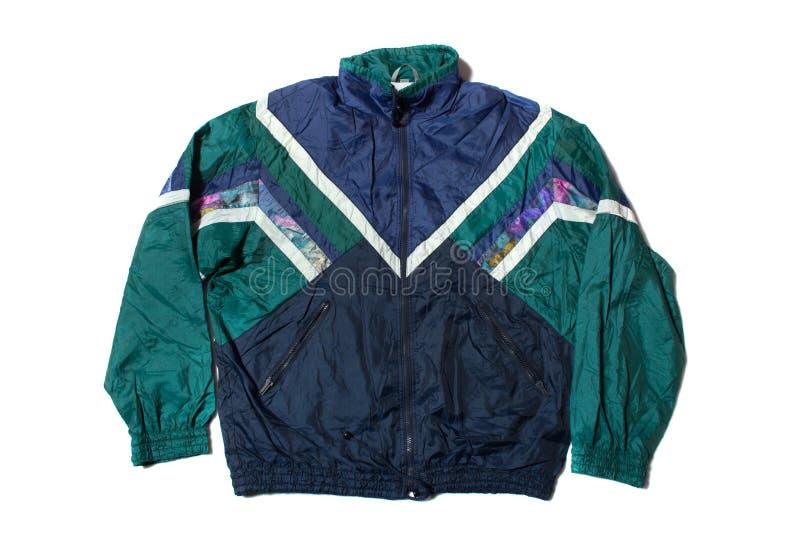 Vintage tracksuit jacket royalty free stock photography