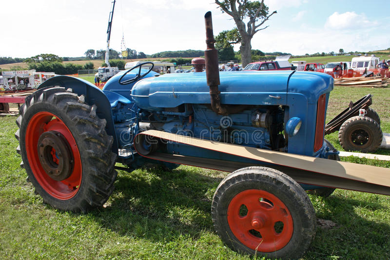 Download Vintage tractor stock photo. Image of field, work, machines - 10617962