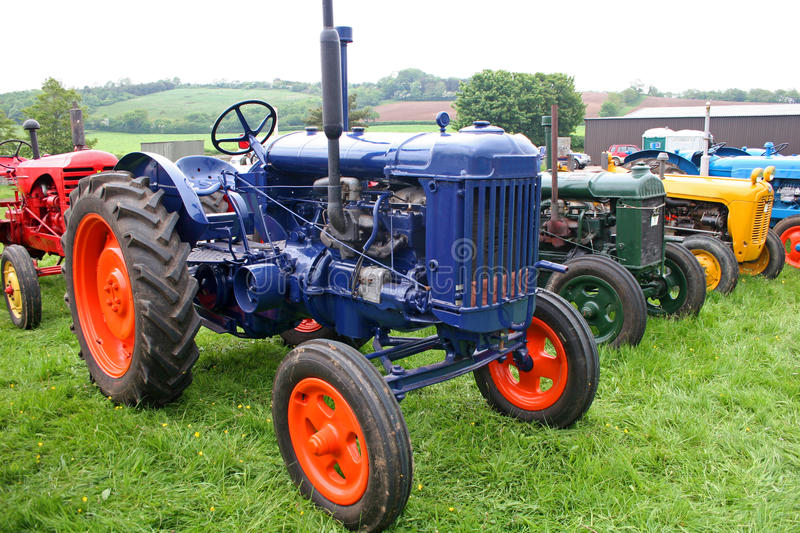 Download Vintage tractors stock photo. Image of plant, england - 20770188