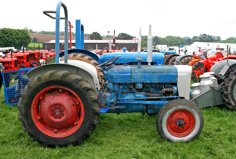 Download Vintage tractors stock photo. Image of machinery, tractors - 22397088