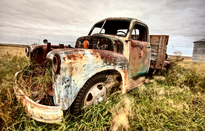 Download Vintage Truck stock image. Image of nostalgia, neglect - 16359513