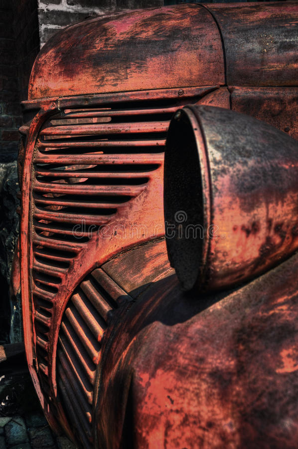 Vintage truck royalty free stock photo