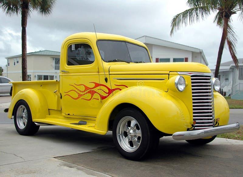 Download Vintage truck stock image. Image of historic, headlights - 9650501