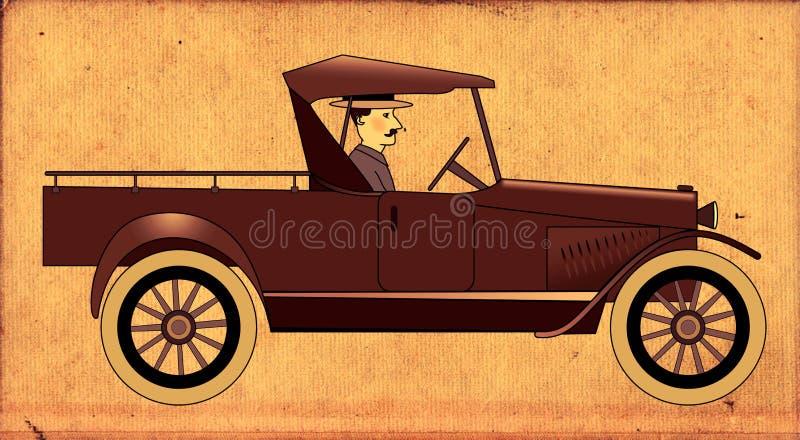 Vintage Truck royalty free illustration