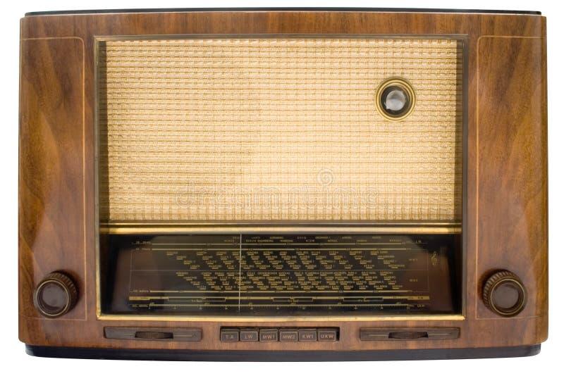 Vintage Tube Radio w/ Path stock photo