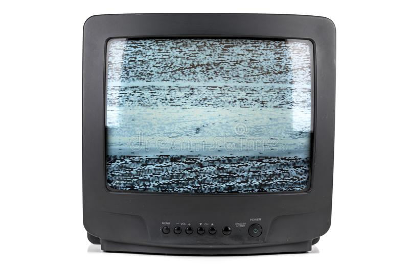 A Small Vintage Tube TV royalty free stock images