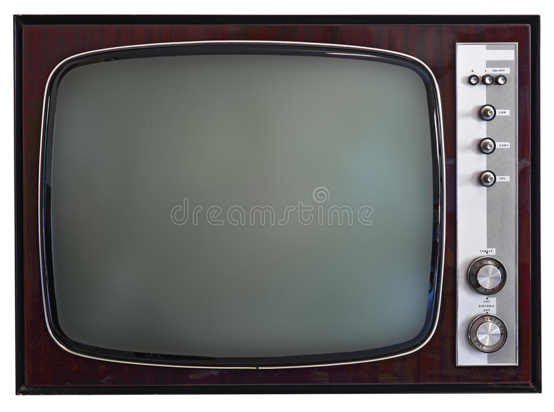 Download Vintage tv stock photo. Image of screen, wood, television - 28567580