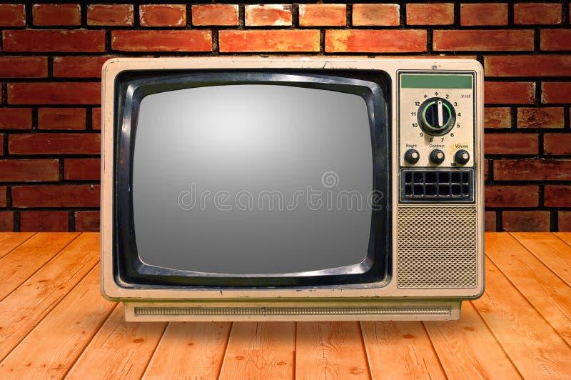 Vintage TV fotos de archivo libres de regalías