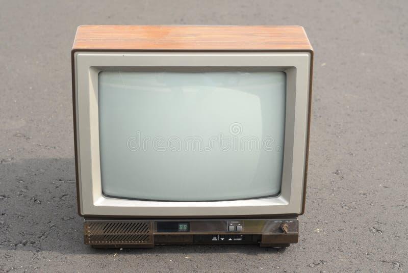 Download Vintage TV set stock photo. Image of tube, road, wood - 11130216