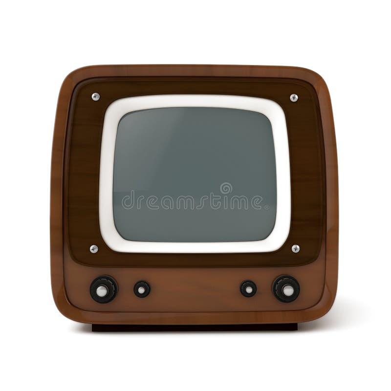 Vintage tv set vector illustration