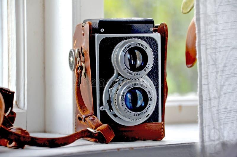 Vintage Twin Lens Reflex Camera Free Public Domain Cc0 Image
