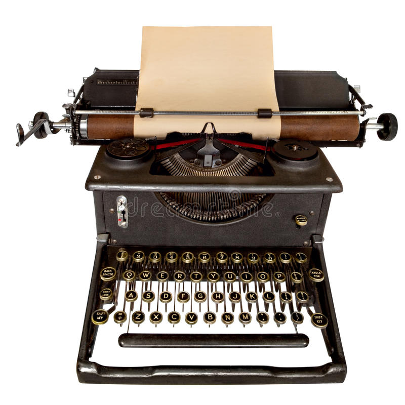 Free Vintage Typewriter Stock Photo - 10868010