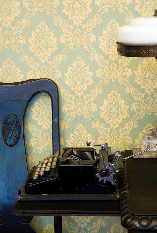 Download Vintage typewriter stock image. Image of fashioned, typing - 18872691