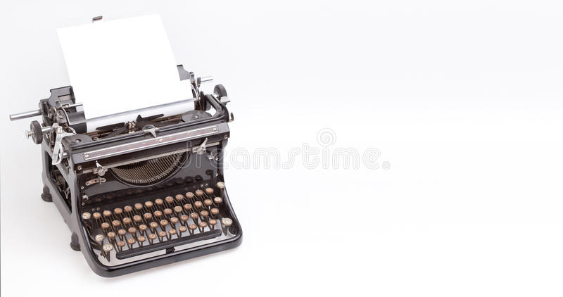 Download Vintage typewriter stock photo. Image of nostalgia, press - 20002576