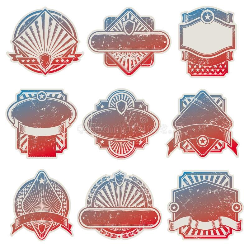 Download Vintage USA labels stock vector. Illustration of badge - 10633632