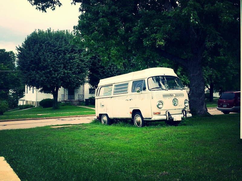 Vintage Van imagen de archivo