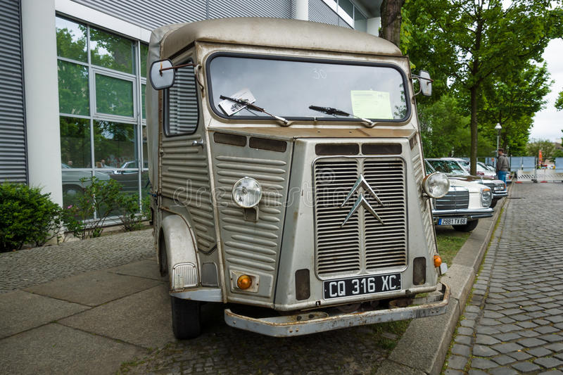 Vintage van Citroen H Van (HY 72), 1973 stock photos