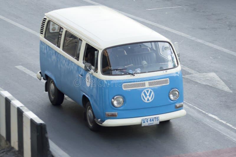 Vintage van Volkswagen stock afbeelding