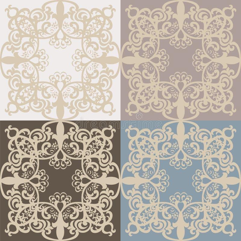 Vintage vector lace pattern set in eastern style background ornate download vintage vector lace pattern set in eastern style background ornate decor element for design junglespirit Choice Image