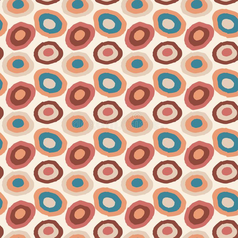 Vintage vector seamless background. Etnic creative pattern. Wrapping or fabric design. Vintage vector seamless background. Etnic creative pattern. Wrapping or vector illustration