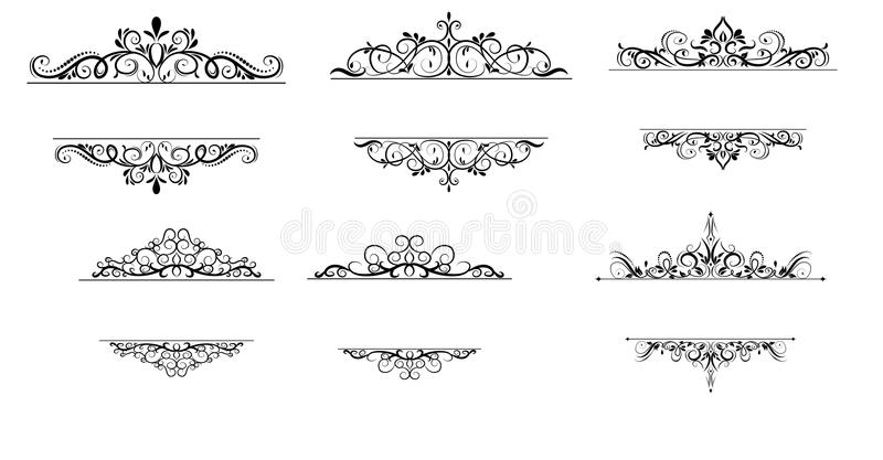 Vintage vector swirl frame set stock vector illustration of download vintage vector swirl frame set stock vector illustration of element invitation 112943183 stopboris Image collections