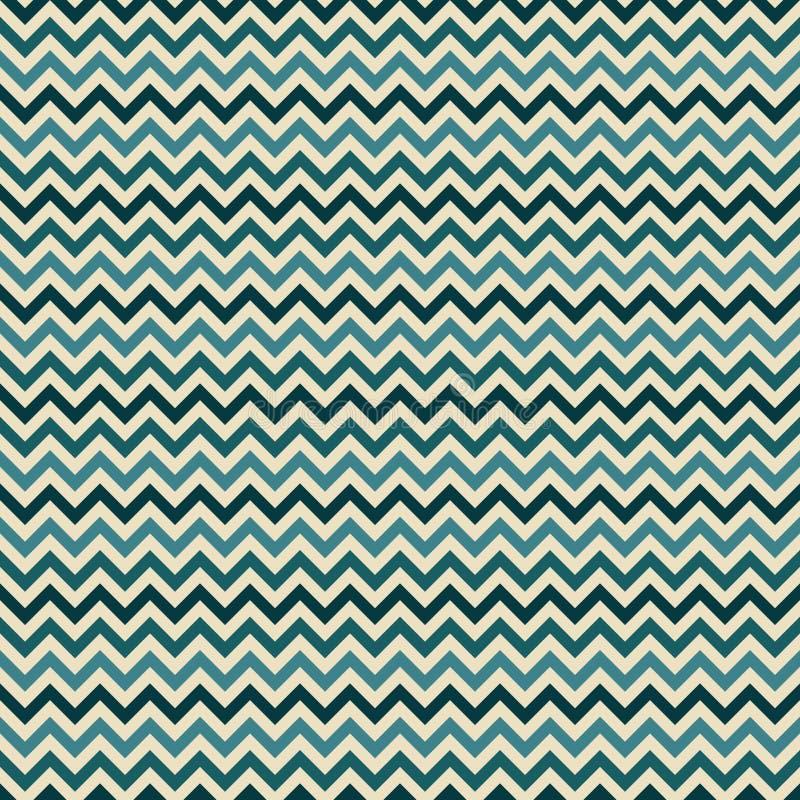 Vintage vector zigzag chevron pattern royalty free illustration