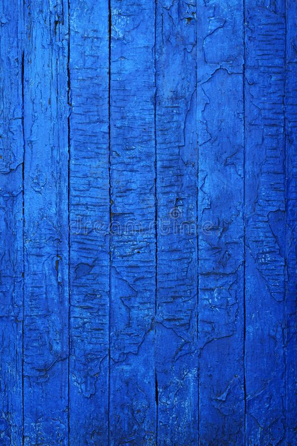 Vintage velho placas vestidas pintadas na pintura azul imagens de stock royalty free