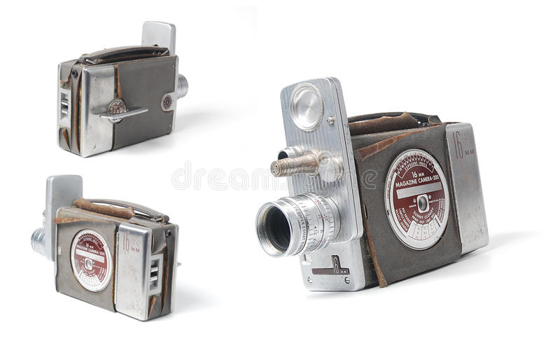 Vintage video camera stock images