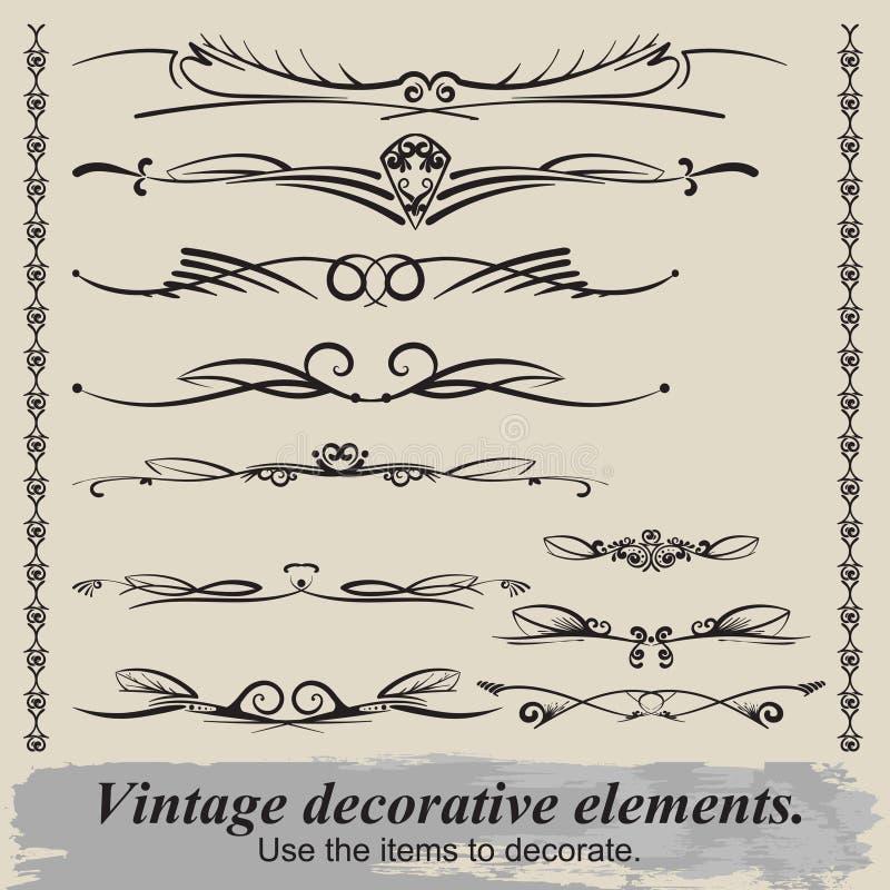 Vintage vignettes. royalty free stock image