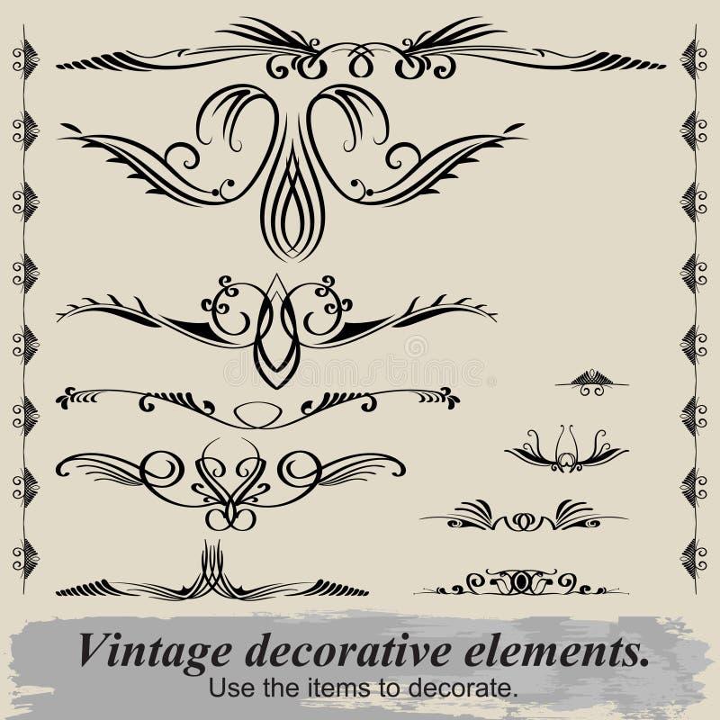 Vintage vignettes. royalty free stock photo