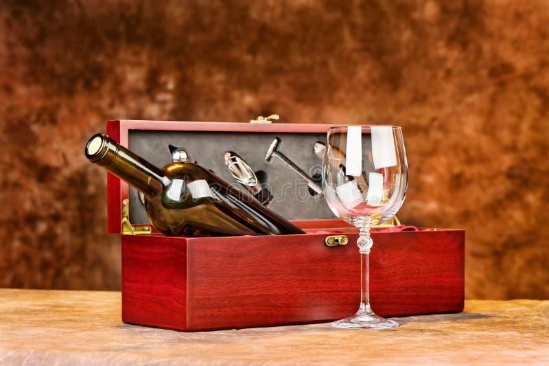 Vintage vine case royalty free stock photography