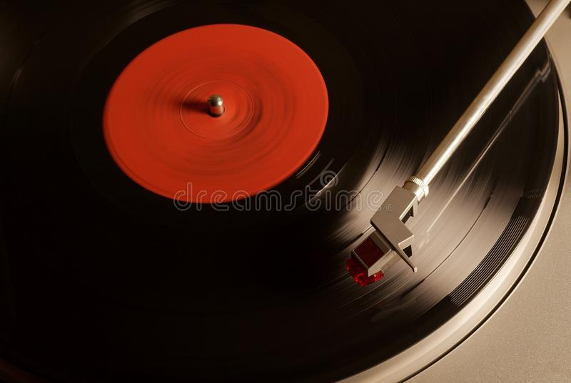 Vintage Vinyl player royalty free stock images