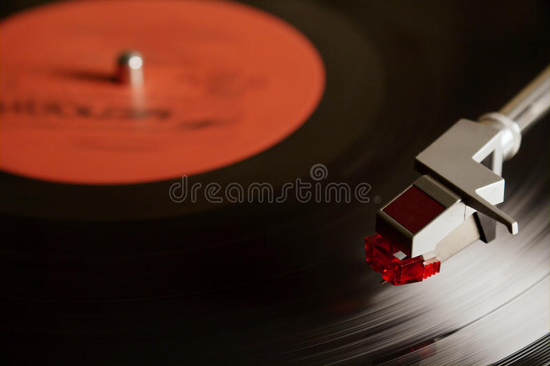 Download Vintage vinyl record stock image. Image of playing, vintage - 11777095