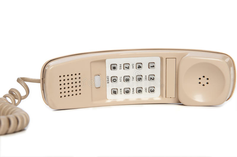 Download Vintage Wall Phone stock photo. Image of numbers, telephone - 16464720