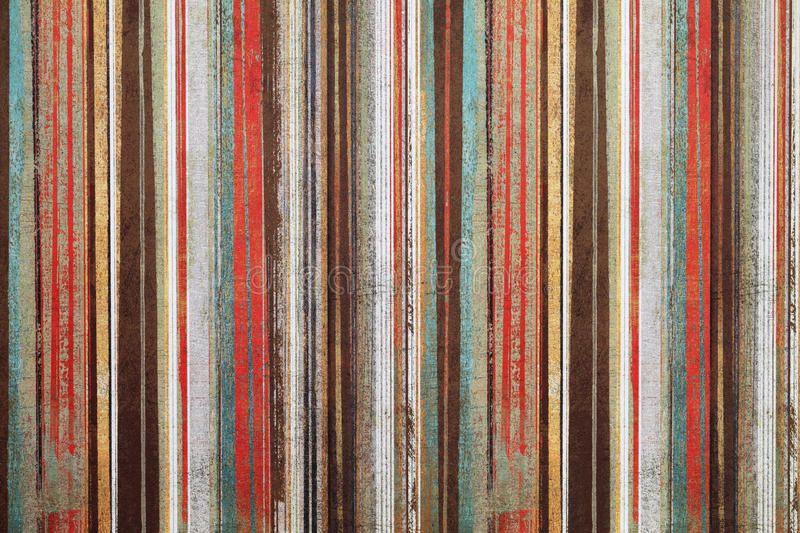 Vintage wallpaper. Vintage shabby wallpaper with stripes royalty free stock photo