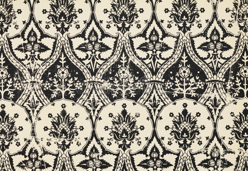 Vintage wallpaper. Flower pattern background stock photos
