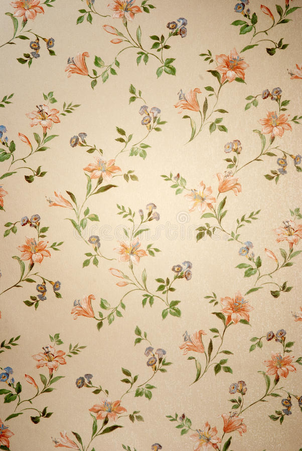 Download Vintage wallpaper stock image. Image of decoration, fashioned - 19828345