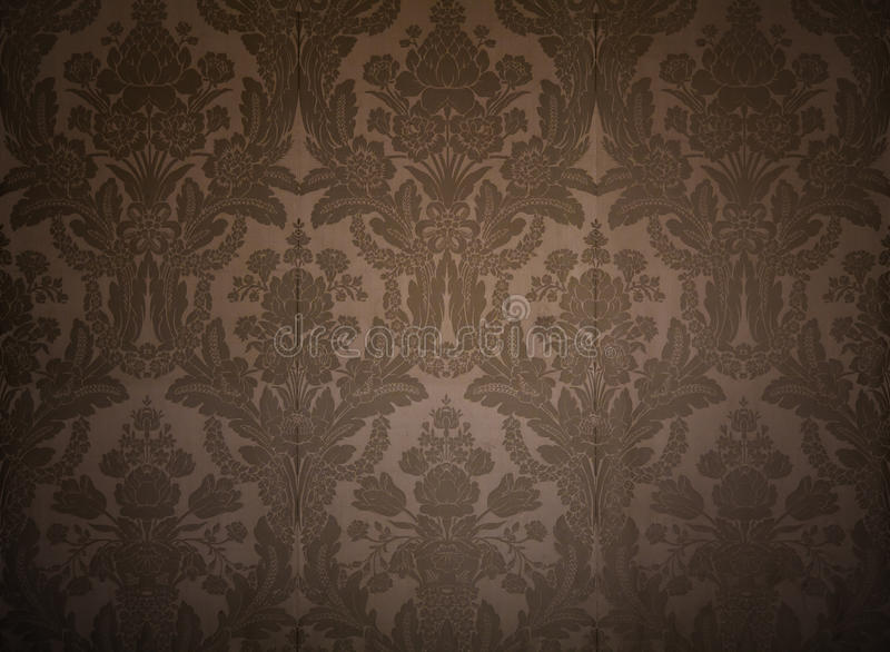 Vintage wallpaper. With classy patterns stock image