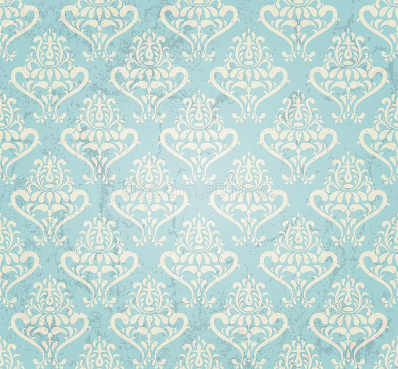 Vintage wallpaper vector illustration
