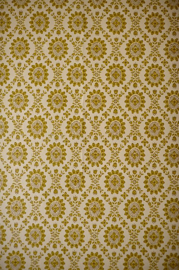 Vintage Wallpaper. Vintage Floral Wallpaper Vertical Photo. Simple Retro Style Pattern royalty free stock image