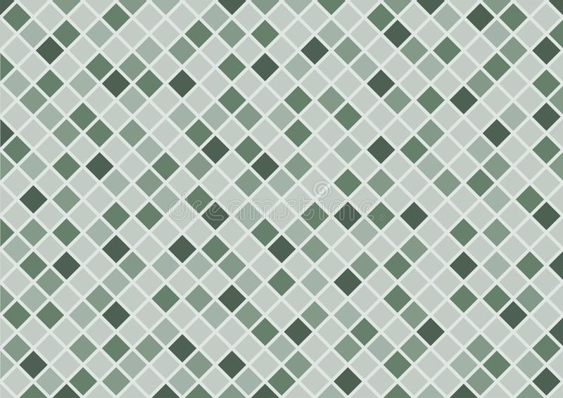 Abstract green rectangle background. stock image
