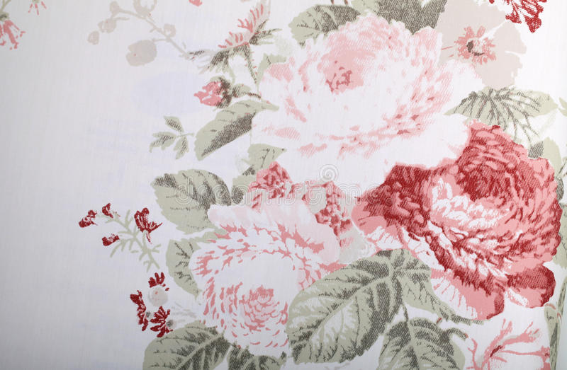 Vintage wallpaper with floral pattern royalty free stock image