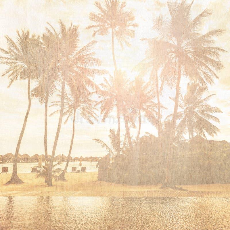 Vintage Wallpaper Stock Image. Image Of Holiday, Coastline