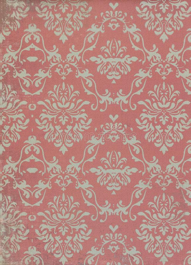 Free Vintage Wallpaper Pattern Royalty Free Stock Photo - 22142425