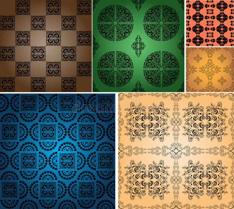 Vintage Wallpapers Royalty Free Stock Photos